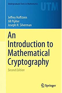 An Introduction to Mathematical Cryptography (Undergraduate