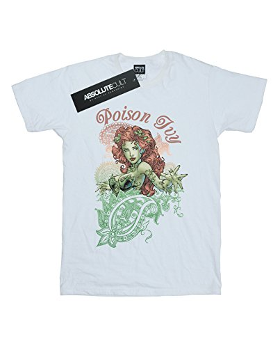 Comics Poison Paisley Homme Dc T Blanc Ivy shirt Z8OdEwxn