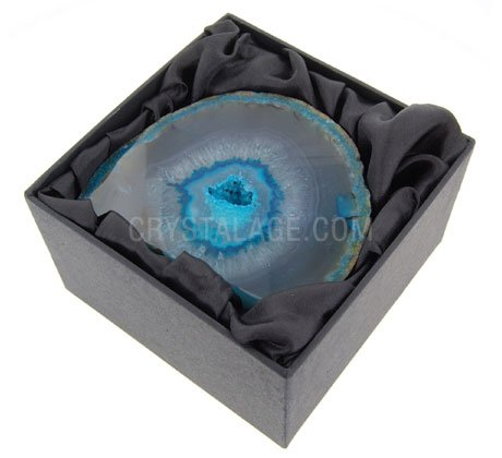 Agate Geode (Turquoise) Gift Box - Small