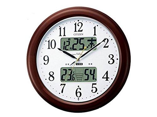 シチズン CITIZEN 電波掛時計 インフォームナビEX 4FY620-006 インテリア 時計 掛け時計 mirai1-294378-ak [並行輸入品] [簡易パッケージ品] B06Y1RGYWB
