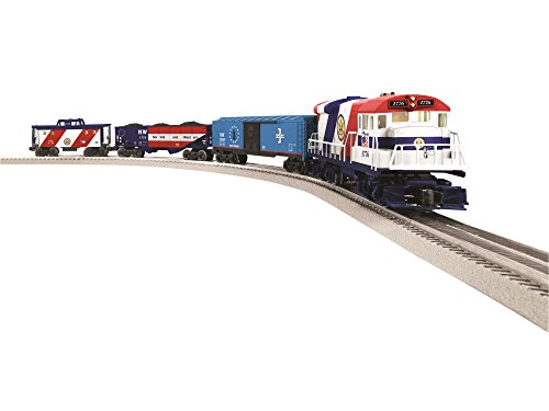 O Gauge Trains Model (Lionel The Patriot LionChief U36B Diesel Freight Ready To Run Train Set)