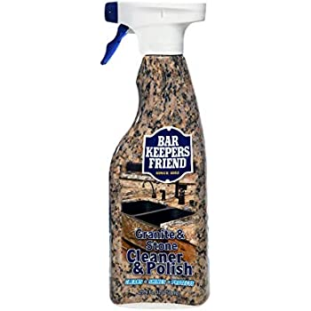Amazon Com Bar Keepers Friend Granite Amp Stone Cleaner