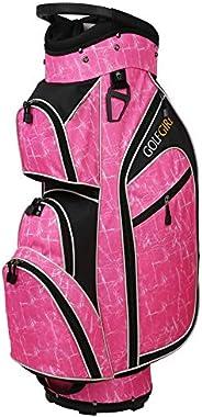 Golf Girl Ladies 14 Way Cart Bag - Pink