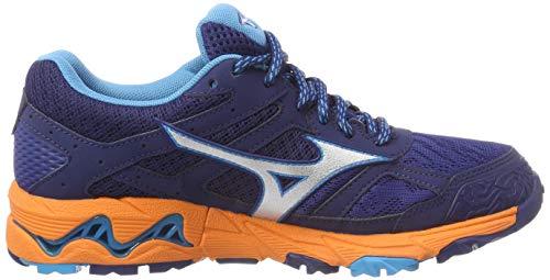 estblue Basses 001 Wave silv Gtx Sneakers hawaiiocean Multicolore Mizuno Femme 5 Mujin 8qwHX