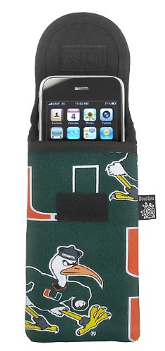 University of Miami Phone Case Glasses Holder UM Logo Fits APPLE IPHONE, TOUCH, Samsung, LG, Nokia and - Miami Eyeglasses