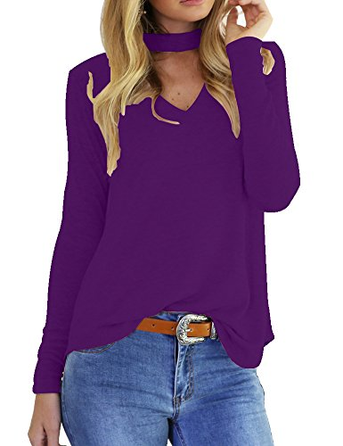 Allegrace Sleeve Collar Casual Blouse