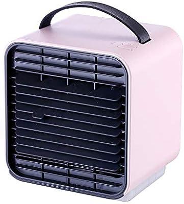 URIBAKY Refrigerador De Aire, Refrigerador De Aire PortáTil, [Mini Ventilador, Humidificador, Purificador De Aire] Aire Acondicionado PortáTil 3 En 1 1, para El Hogar/Oficina/AutomóVil/Exterior: Amazon.es: Hogar