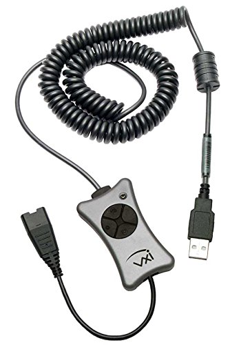 VXi 202931 X200-P USB Adapter with DSP and Call Controls for Communications Headsets