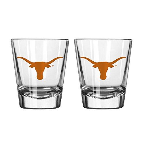 NCAA Texas Longhorns Game Day Shot Glass, 2-ounce, (Texas Longhorns Glass)