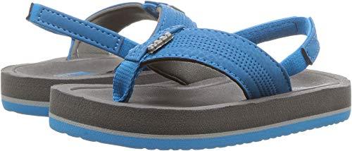 5be827614071 Reef Boys  Grom Splash Sandal Grey Blue 13-1 M US Big Kid