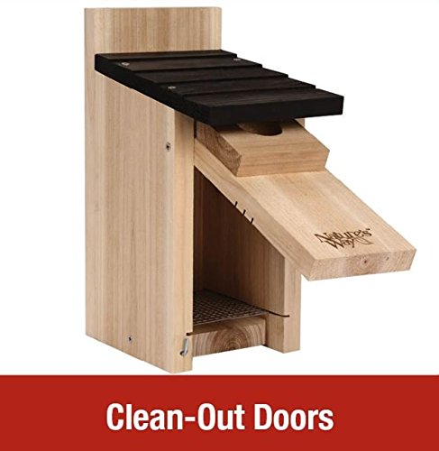 Natures Way Bird Products CWH3 Cedar Bluebird Box House