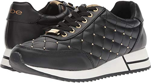 (bebe Women's Barkley Sneaker Black 10 Medium US)