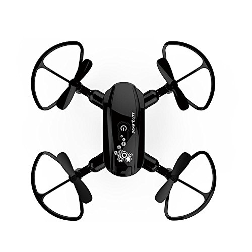 RC Drone Mini D10WH Foldable With Wifi FPV HD Camera 2.4G 6-Axis RC Quadcopter Drone Toys for Kids and Adult
