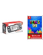 Nintendo Switch Lite - Grey + Tetris 99 + NSO
