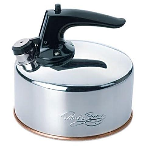 Revere 6-Cup Whistling Tea Kettle - Revere Copper Brass