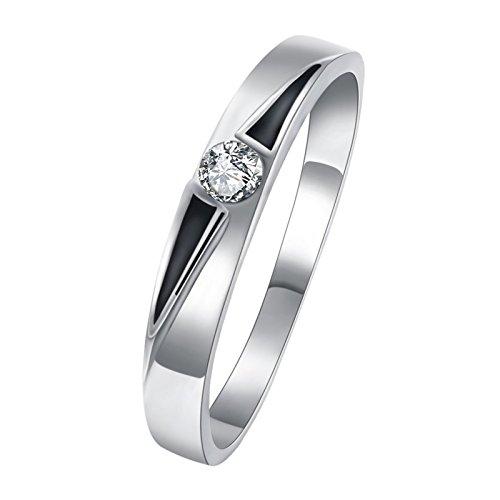 Epinki Jewelry Women Round Cubic Zirconia Cz Diamond Eternity Engagement...