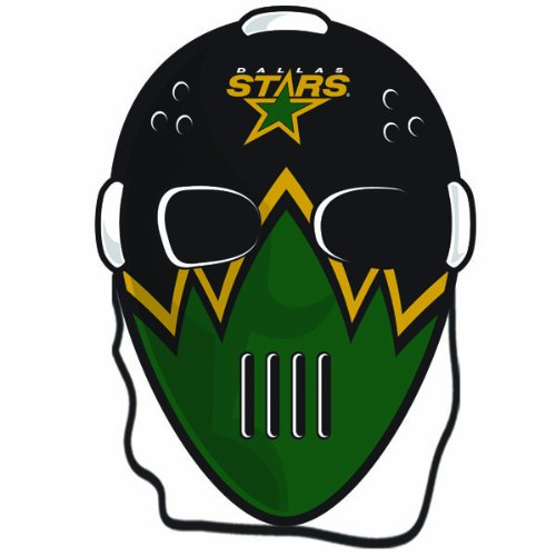 NHL Dallas Stars Goalie Face Mask (Nhl Player Halloween Costume)
