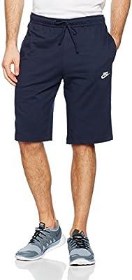 24391d14d Nike Men s Nsw Jersey Club Short Obsidian White