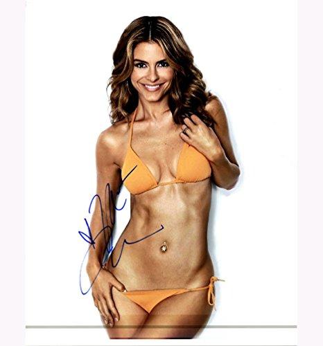 Maria Menounos Sexy Bikini E! ET Autographed Signed 11x14 Photo AFTAL UACC RD