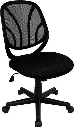 Flash Furniture GO-WY-05-GG Y-GO Chair and Trade, Mid-Back B