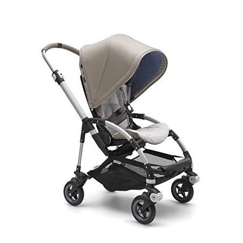 Bugaboo Bee5 Complete Stroller, Tone – Compact, Foldable Stroller for Travel and Urban Life. Easy to Steer on City Streets & Tight Turns! The Most Popular Lightweight Stroller!