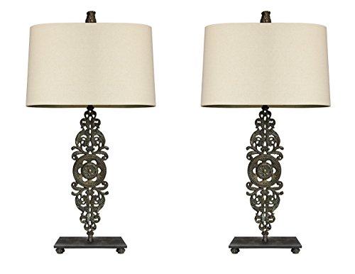 cast iron desk lamp - 5