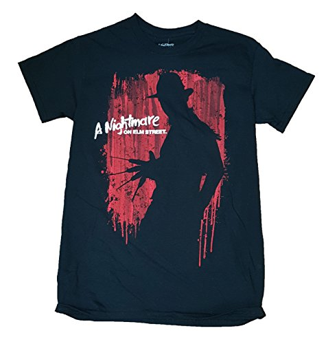 A Nightmare on Elm Street Freddy Krueger Graphic T-Shirt - Large]()