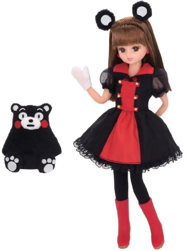 Japan Takara Ld-16 Licca Doll Licca-chans and Kumamon Set by TOMY