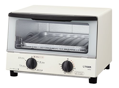"""TIGER Toaster Oven""""YAKITATE"""" KAK-A100-W (White)【Japan Domestic genuine products】"""