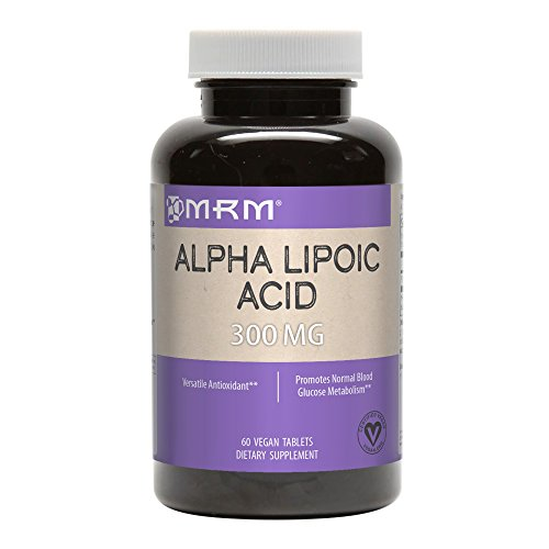 MRM Alpha Lipoic Acid Tablets, Sustained Release, 300 mg, 60-Count Bottle