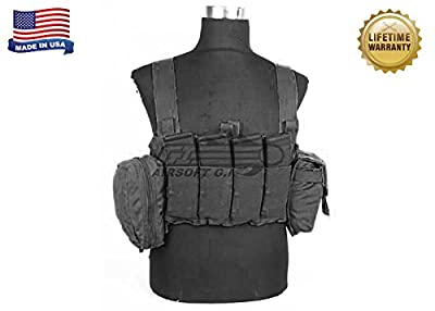 Blue Force Gear Ten Speed M4 Chest Rig, Black