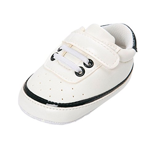 YJYdada Baby Toddler Infant Soft Sole No-slip Sneaker Crib Shoes (6~12 Month, black) Review