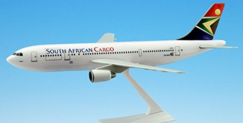 Flight Miniatures SAA South African Airways Cargo Airbus A300B2 1:200 Scale REG#ZS-SDG New Livery Blue Tail
