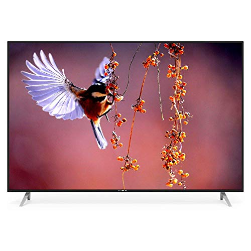 YUWA 127 cm (50 Inches) 4K Ultra HD Smart Android LED TV NTY-50 (Black) (2020 Model).
