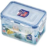 Lock & Lock Classic Stackable Airtight Rectangle Food Container, 800ML