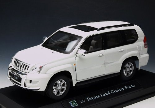 Kararama cararama] [1/24 Toyota Land Cruiser Prado over white [125-067] (japan import)
