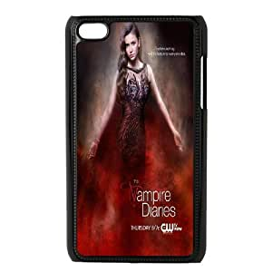 Best Quality [SteveBrady PHONE CASE] TV Show The Vampire Diaries FOR IPod Touch 4th CASE-7