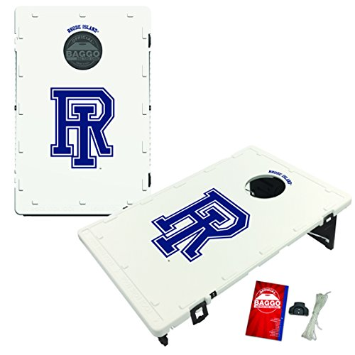 Rhode Island University of Rams Baggo Bean Bag Toss Cornhole Game Classic Design by Victory Tailgate