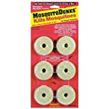 Mosquito Dunks 102-12 Mosquito Killer, 6 Pack
