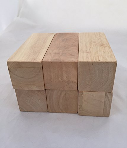 Solid Hard Wood Blocks- 5 1/4 Inches Lon - Hardwood Block Shopping Results