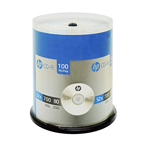 HP 52x 700mb CDR 100 Pack Spindle