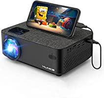WiFi Projector,VILINICE 5000L Mini Outdoor Movie Projector ,Portable Phone Projector with Wireless Mirroring,1080P and...
