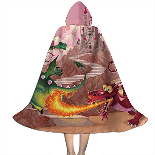The Costumes Party Fable 2 - QBahoe Kids Cape Cloak with Hood