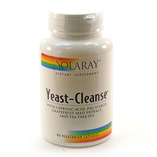 Solaray Yeast Cleanse VCapsules 90 Count