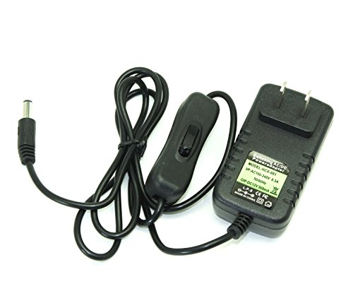 Pegly Switching AC/DC Power Adapter Universal 12V 0.5A Wall