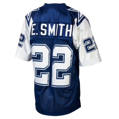 low priced 7e016 50453 Dallas Cowboys Emmitt Smith 1995 Mitchell & Ness Double Star Jersey