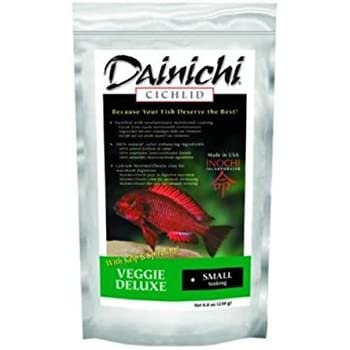 Amazon.com: Dainichi Cichlid – Veggie Deluxe hundimiento ...