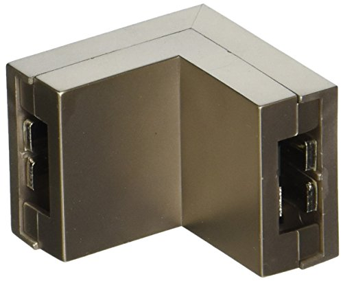 WAC Lighting LM2-T-BN 2-Circuit Low Voltage Monorail T Connector