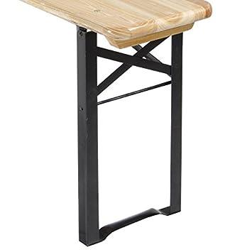 Lot de 2 pieds pour table de brasserie  Amazon.fr  Bricolage 8835216f8420
