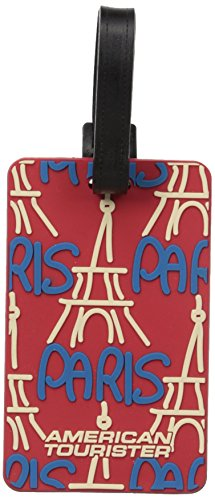 American Tourister Luggage Tag, Paris, One Size